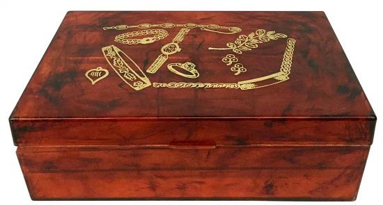1950s-vintage-tortoise-bakelite-jewelry-box