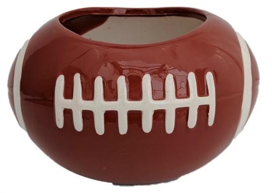 Football Ceramic Sports Planter