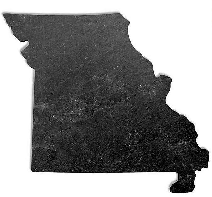 Top Shelf Living Missouri Slate Cheese Board