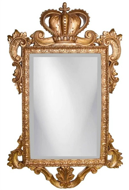 Royal Crown Wall Mirror