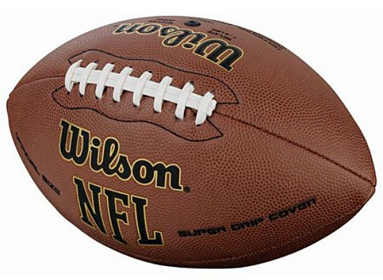 Wilson NFL Super Grip Composite Leather Game Football