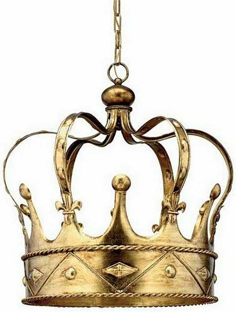 crown-chandelier-gold-metal