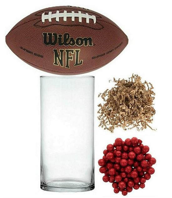 football centerpiece