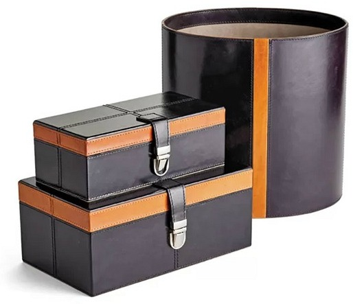 Lindy 2 Piece Decorative Trunk Set
