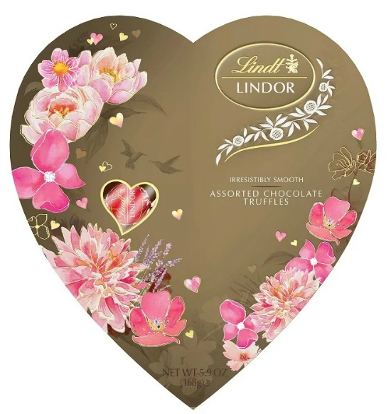 Lindor Valentine's Day Assorted Chocolate Truffles