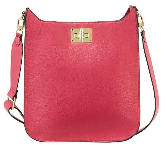 Neiman Marcus Ellie Faux-Leather Crossbody bag