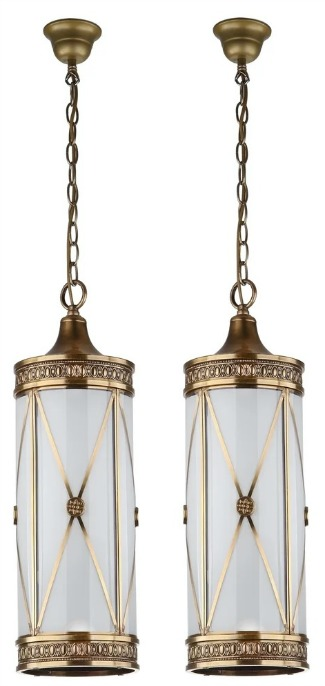 Safavieh Lighting Darby Adjustable 3-light Small Brass Pendant