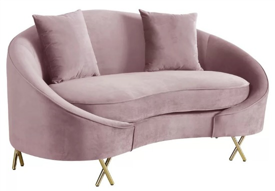 Stockport Curved Loveseat