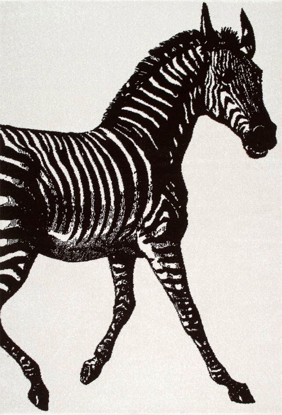 nuLOOM Thomas Paul Power Loomed Zebra Area Rug