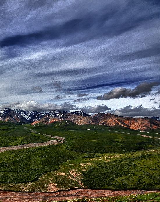 Alaska Range at Polychrome Overlook