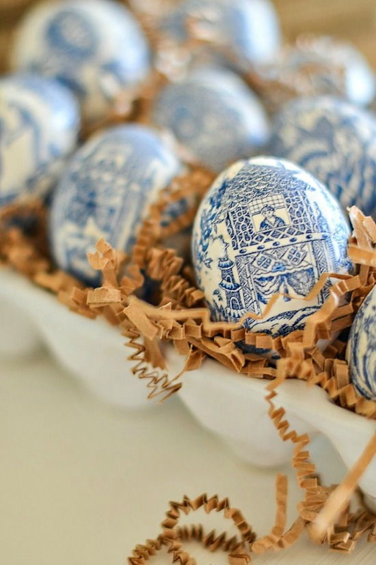 Chinoiserie Easter Eggs