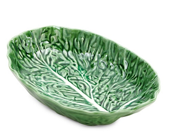 Made In Portugal Cabbage Serving Dish