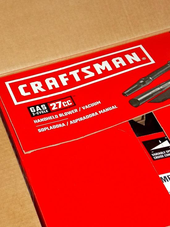 Craftsman handheld blower