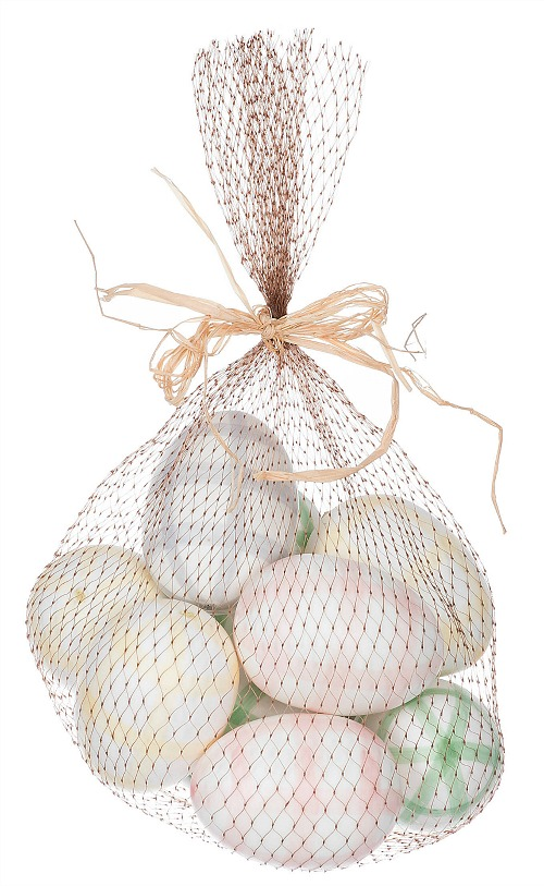 Pastel Gingham Easter Egg Filler