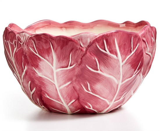 cabbage-pattern-serving-bowl