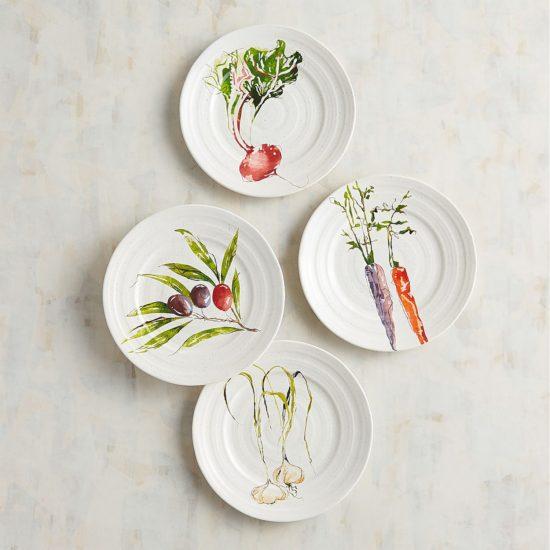Garden Variety Salad Plate Set