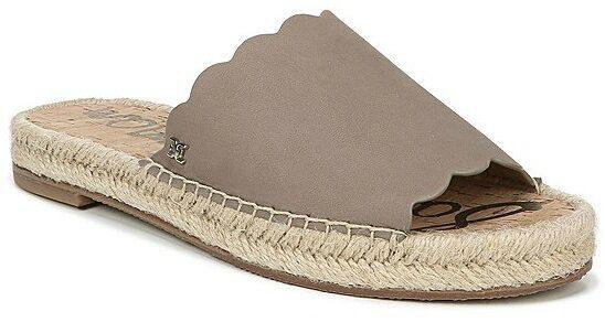 Sam Edelman Andy Leather Espadrille Sandals