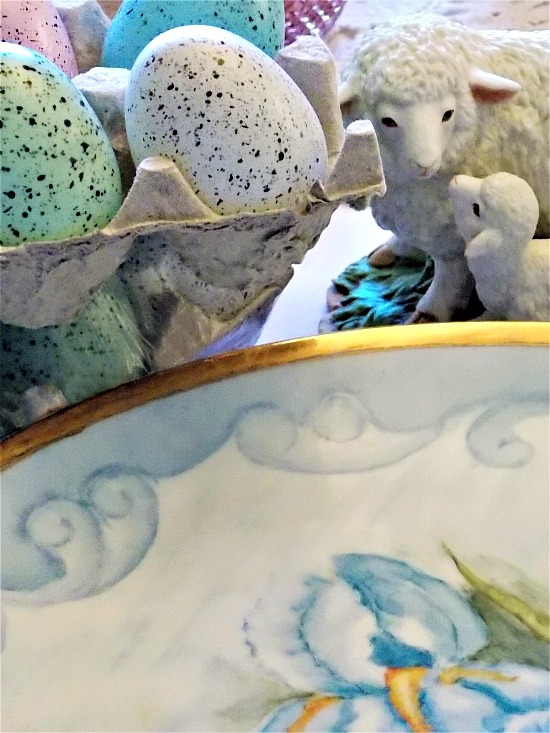 speckled-eggs-lamb-figurine