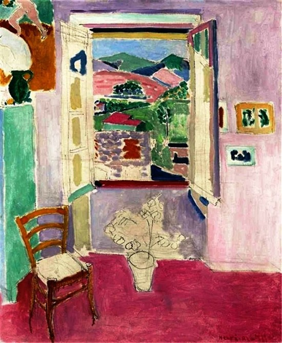 Henri Matisse, Fenêtre, 1911