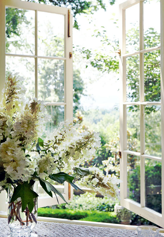 open casement windows