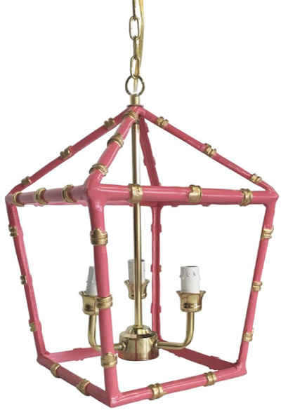 3 - Light Lantern Geometric Pendant