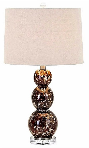 Aesthetic Burnell Table Lamp, Multicolor