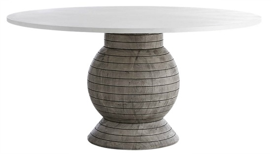 Balance Round Pedestal Dining Table