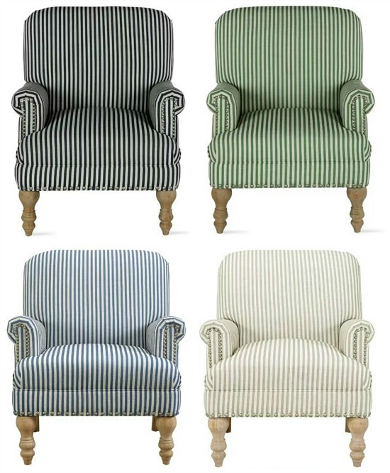 Bashir Armchair Color Choices
