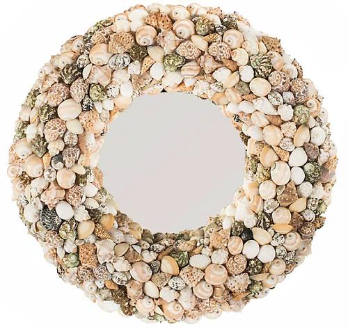Cordero 20-Inch Round Mirror