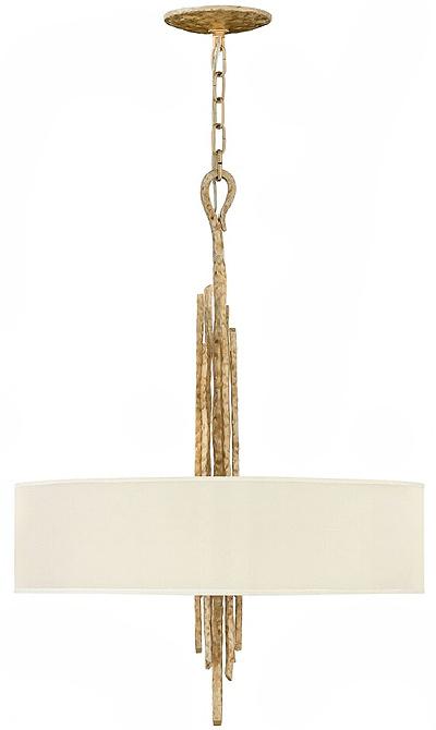 Fredrick Ramond Spyre 6-Light Chandelier in Champagne Gold