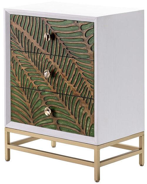 Jungle Leaf 3 Drawer Cabinet