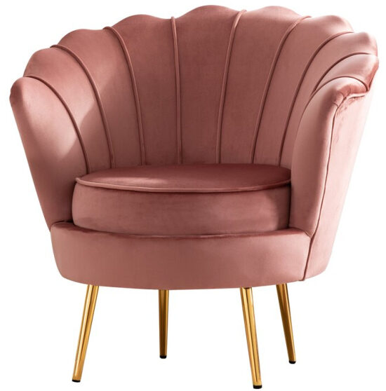 Liliane+28.8+Wide+Velvet+Barrel+Chair