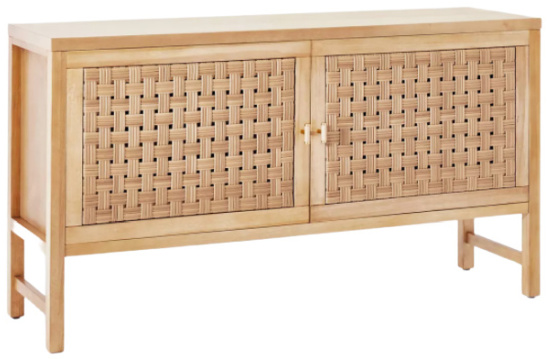 Palmdale Woven Door Console Natural - Threshold™ designed with Studio McGee