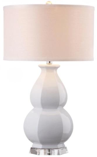SAFAVIEH Lighting 30-inch Juniper White Table Lamp