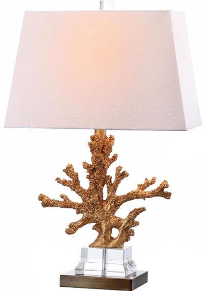 Safavieh Lighting 24-inch Bashi Bronze Table Lamp