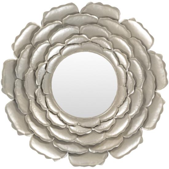 Surya wall mirror in silver