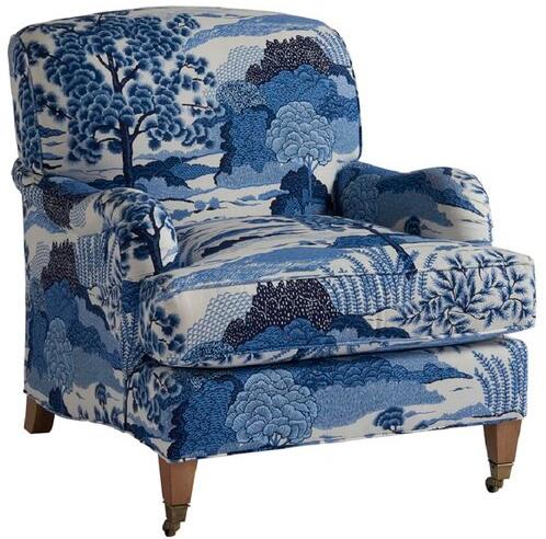 "Sydney 32"" Wide Down Cushion Armchair"