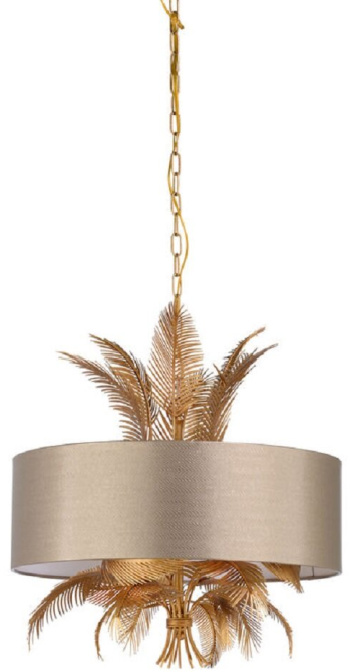Wild 6 - Light Shaded Drum Chandelier with Rope Accents