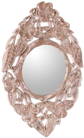 Handmade Wood Wall Mirror
