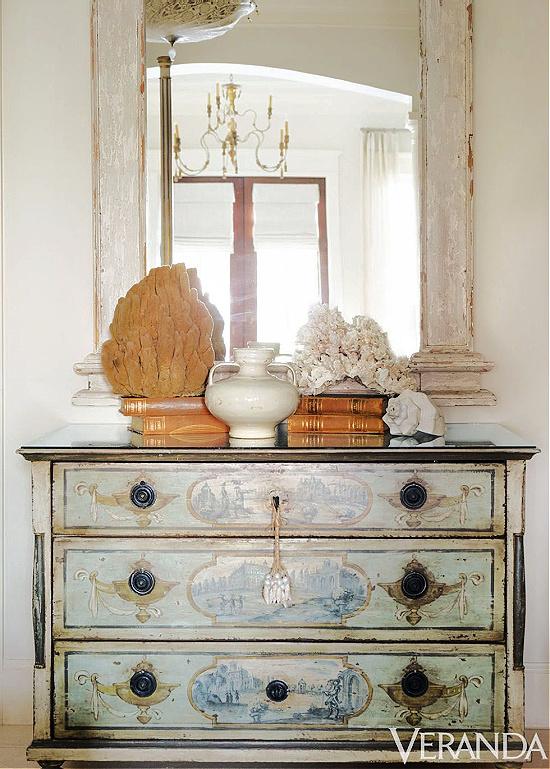 antique-painted-chest