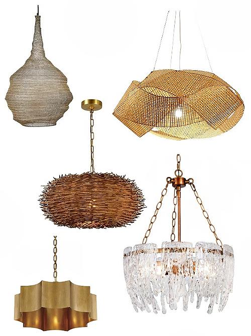 coastal style pendant lights