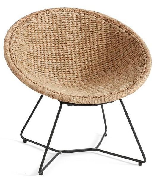 indoor woven papasan chair