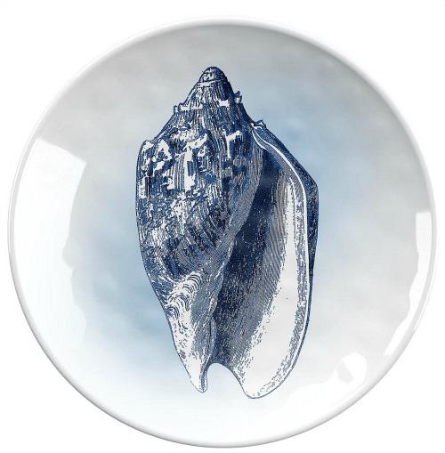 shell melamine plate