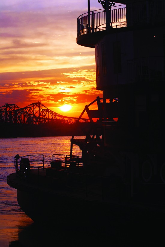 Natchez Ms sunset