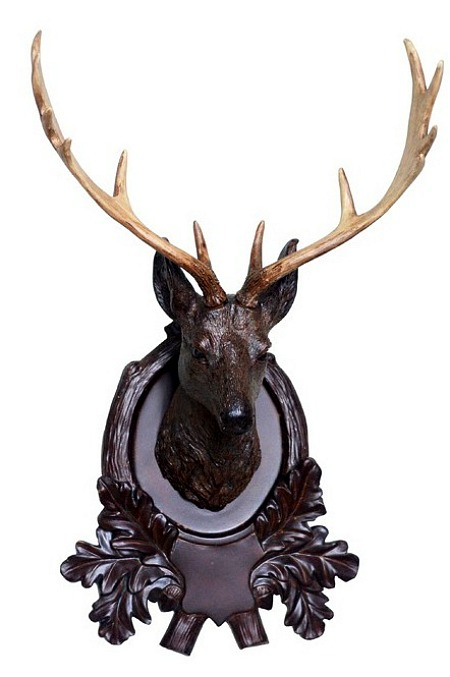 Deer Head Wall Plaque