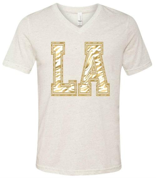 LA gold t shirt Very Laine