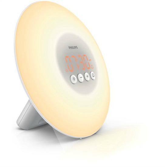 Philips wake-up light with sunrise simulation alarm clock
