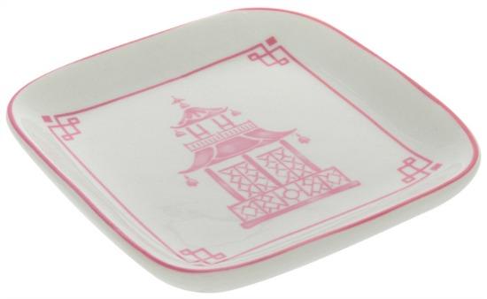 Pink Pagoda Jewelry Dish
