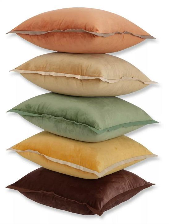 Velvet Flange Throw Pillow