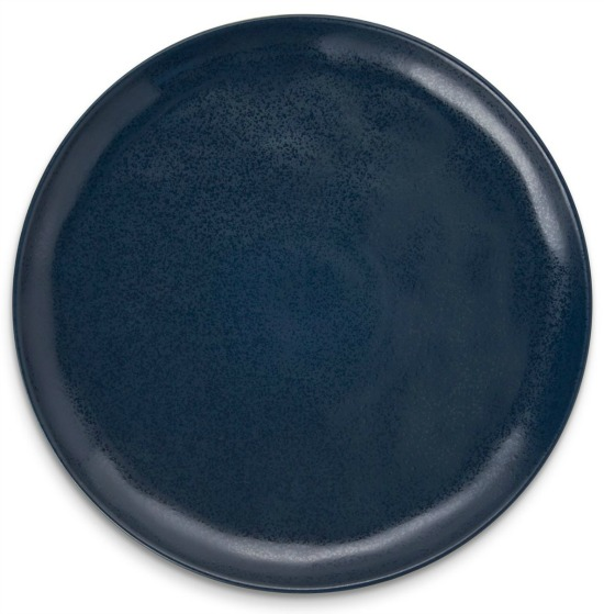 Vistro navy stoneware platter